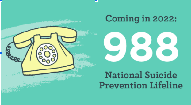 National Suicide Prevention Lifeline will change hotline number in 2022