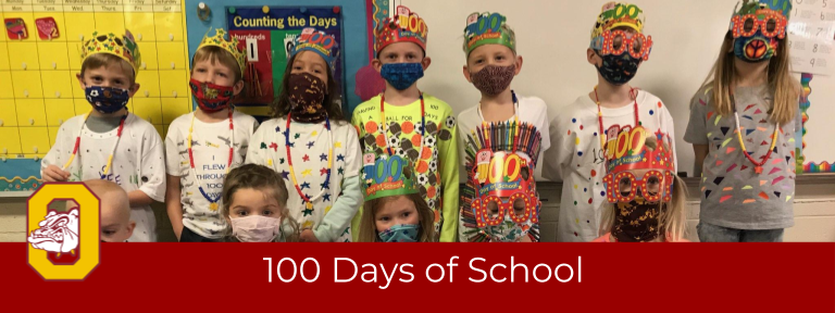 OES Celebrates 100 Days of School