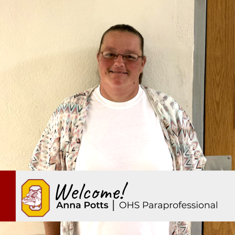 New Staff Profile: Anna Potts