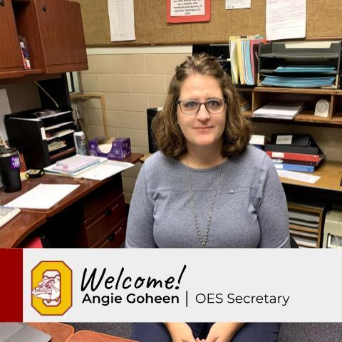 New Staff Profile: Angie Goheen