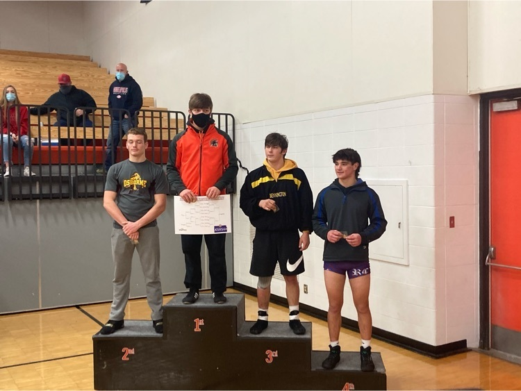 Heise places 2nd at District Wrestling