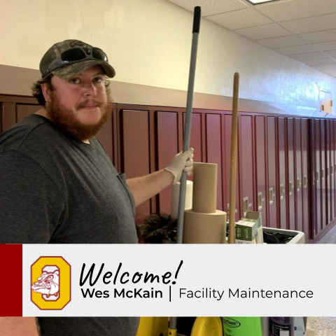 New Staff Profile: Wes McKain