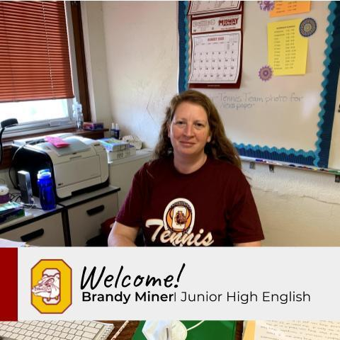 New Staff Profile: Brandy Miner