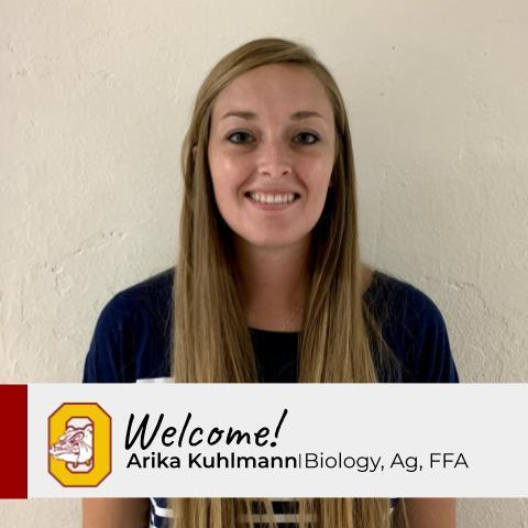 New Staff Profile: Arika Kuhlmann