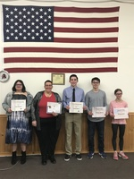 VFW Honors Teacher & Students